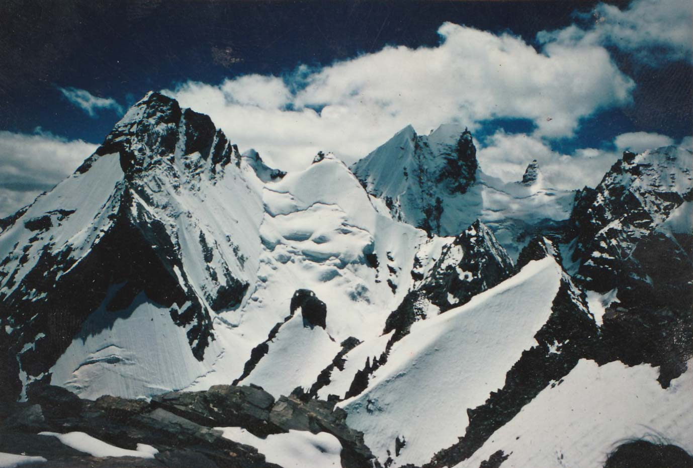 Himalayan Mountain scene - The Frozen River by James Crowden