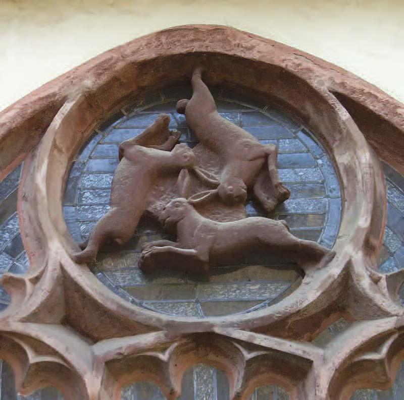 Dreihasenfenster - 'Window of Three Hares'