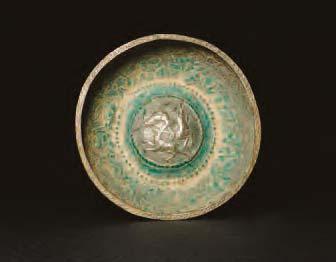 Ilkhanid small white-metal bowl