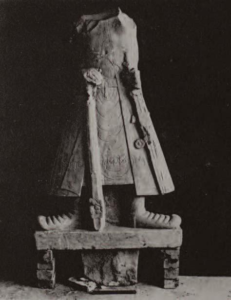 Statue of the Kushan Emperor Kanishka