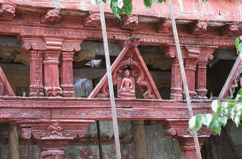 Sumstek temple entrance