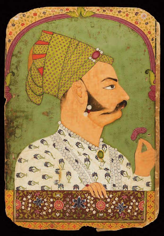 Portrait of Bakhat Singh, Maharaja of Jodhpur