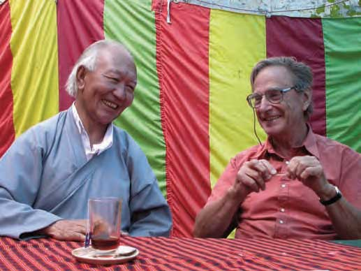 Tashi Rabgyas and Dr John Crook