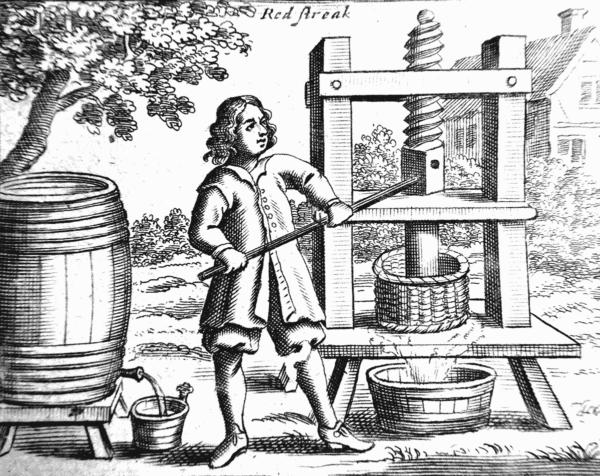 'Cider Making' - 1678, John Worklidge
